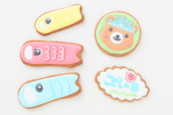 こどもの日 アイシングクッキーセット の画像2枚目