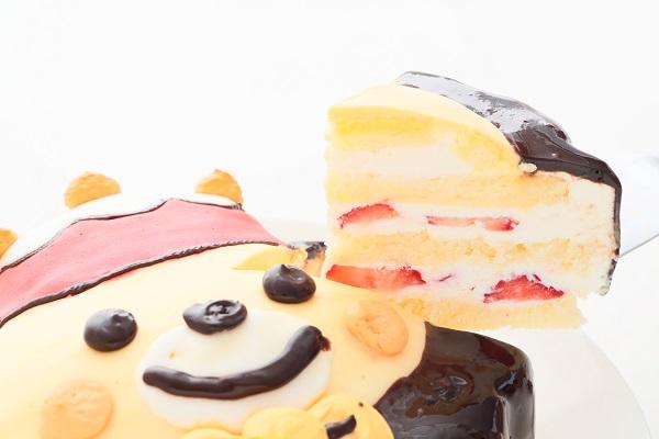 目玉商品!立体生クリームデコレーションケーキ 5号 15cmの画像5枚目