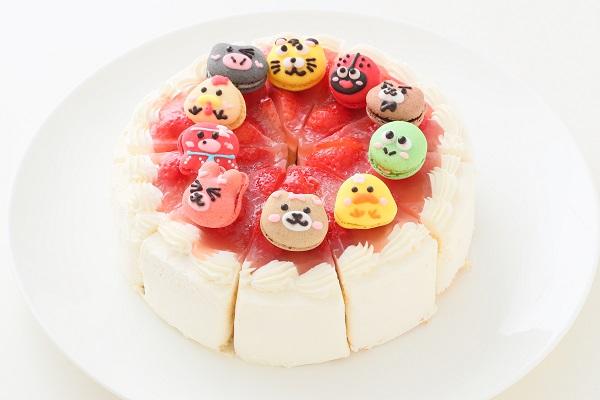 ショートケーキ 6号 10カットの画像1枚目