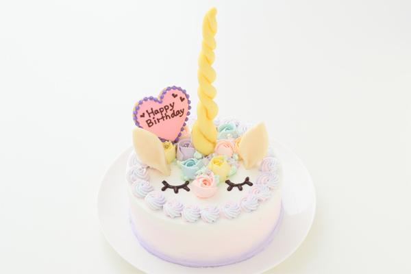 cake.JPサイトのバースデーケーキ ユニコーン