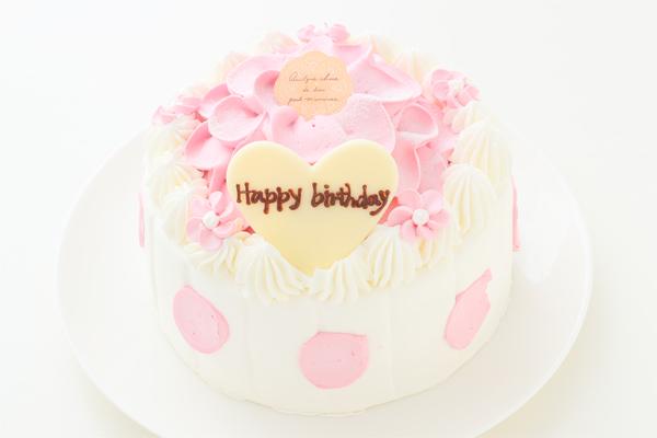 苺のお花ケーキ 5号 15cmの画像1枚目