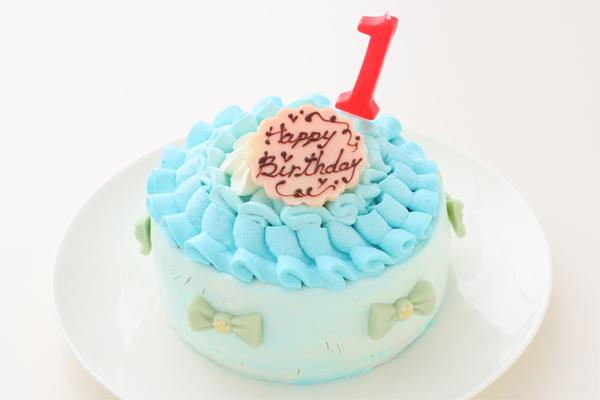 スマッシュケーキ ブルー 4号 12cmの画像1枚目