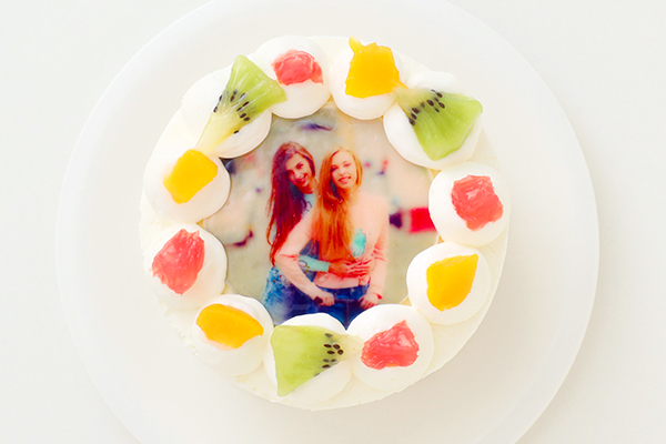 写真ケーキ 丸型 3号 9cm
