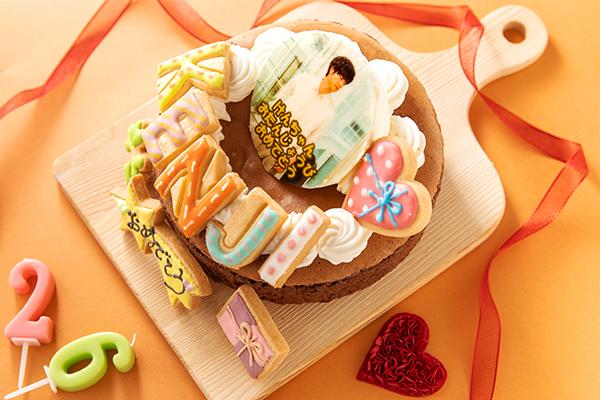 【今だけ500円OFF!】写真アイシングケーキ なめらかTOROKERUクラシックショコラ 5号 15cm