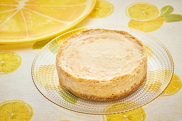 ベジ レモンヨーグルトチーズケーキ 卵 乳 小麦 白砂糖不使用 Musubi Cafe Cake Jp