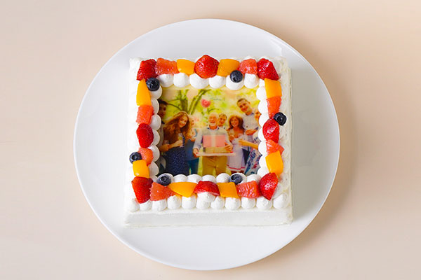 フォトケーキ「Pix」 6号 18cm