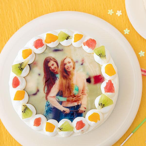 写真ケーキ 丸型 5号 15cmの画像1枚目