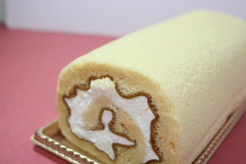 お米のロールケーキ 6cm×16cm