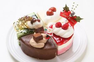 クリスマスケーキ2017 アソート 5号 15cm (1251)