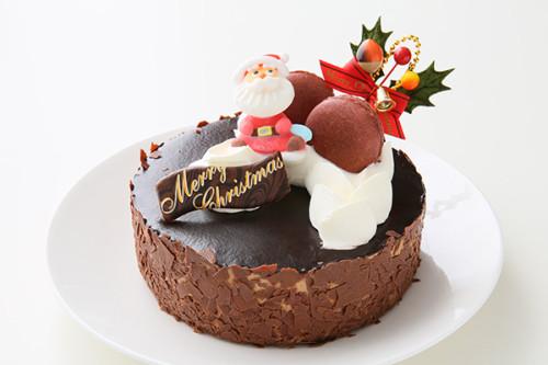 クリスマスケーキ2018 ドゥーショコラ 5号 15cm