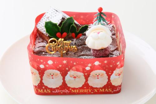 クリスマスケーキ2018 サンタさんのお家 12cm×12cm