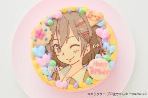 キャラクターケーキ 5号 15cm
