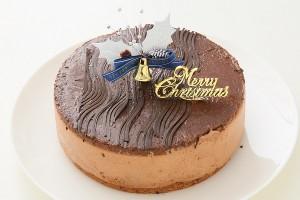 クリスマスケーキ2018 卵・乳製品・小麦粉除去 リッチムースショコラ 5号 15cm