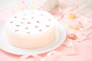 卵・乳製品・小麦粉除去可能 苺ミルク ホールケーキ 5号 15cm
