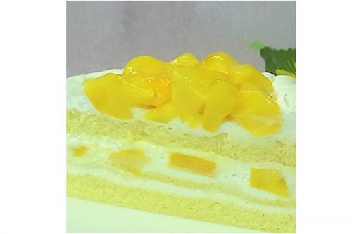 マンゴーのバースデーケーキ 5号 15cm