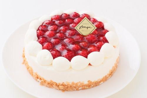 木苺レアチーズケーキ 5号 15cm