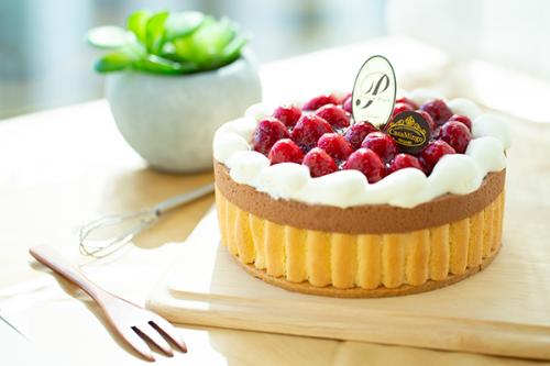 最高級洋菓子 ヴァルトベーレ木苺チョコレートケーキ 26cm