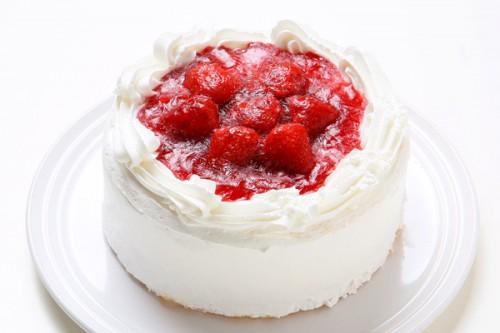イチゴデコレーションケーキ 5号 15cm