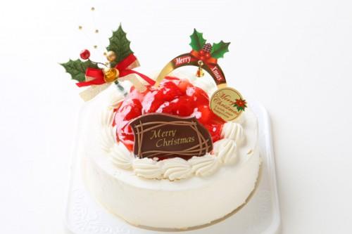 クリスマスケーキ2018 卵除去 卵を使用していないXmasケーキ 7号 21cm
