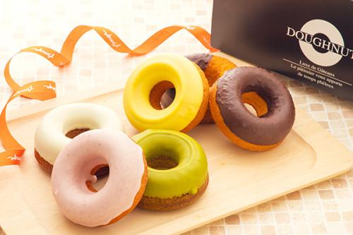 ヘルシー&カラフル!!ふわふわ焼きドーナッツ【カラフル】