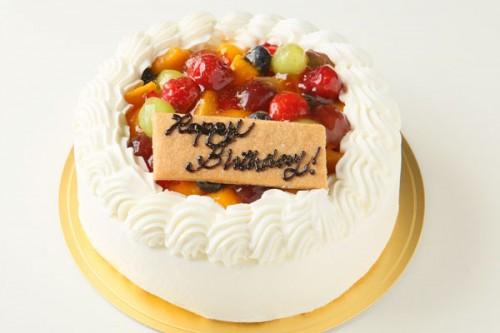 生クリームフルーツデコレーションケーキ 5号 15cm