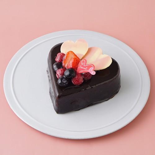バレンタイン2019 ハートチョコレートケーキ 4号 12cm