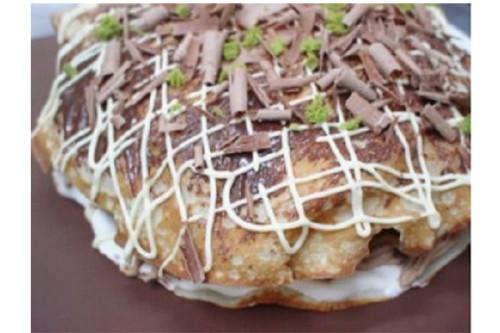 立体お好み焼き風ケーキ 5号 15cm