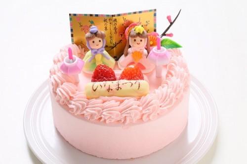 ひなまつりデコレーションケーキ 4号 12cm ひなまつり限定