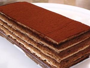 チョコレートケーキ サッシー 縦18cm×横7cm×高6cm