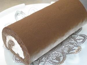 低糖質ガナシュチョコロールロング 18cm