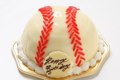 立体ケーキ 野球ボール 5号 15cm
