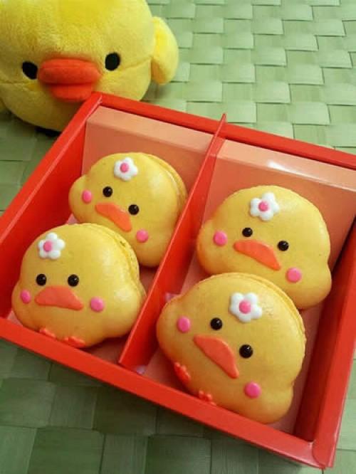ヒヨコマカロン(レモン)4個入り