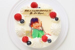 写真ケーキ生クリーム 5号 15cm