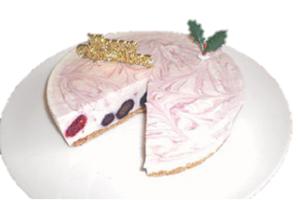 ブルーベリーのレアチーズケーキ 5号 15cm