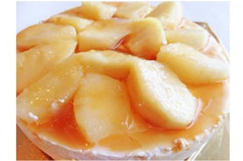 りんごのキャラメルムースケーキ 5号 15cm