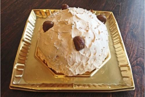 マロンクリームのムースケーキ 5号 15cm