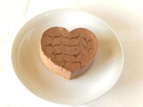 ハートのとろ生チョコムースケーキ 5号 15cm
