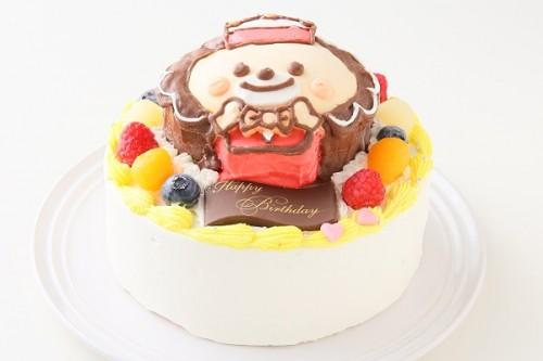 立体3Dケーキ 5号 15cm
