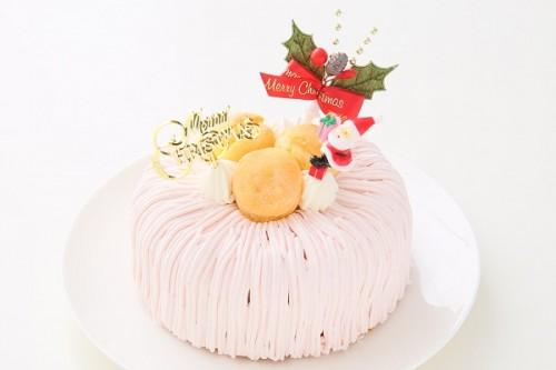 クリスマスケーキ2017 ピンクの卵卵バウム 5号 15cm (1253)
