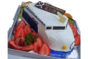 立体ケーキ のりもの 5号 15cm