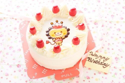 イラストケーキ 生クリーム味 5号 15cm