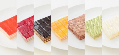 【2.5×2.5カット】8種類から選べるシートケーキ 計15台 (5台×3種類  サイズ:17.5cm×10cm×3cm)