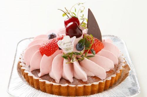 木苺のチーズケーキ 4号 12cm