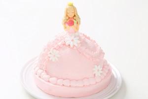 プリンセスケーキ 眠り姫ピンク 5号 15cm