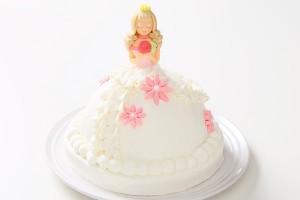プリンセスケーキ 眠り姫ホワイト 5号 15cm
