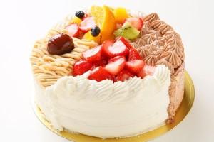 4種のケーキアソート 6号 18cm