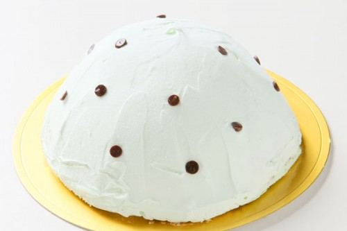 チョコミントのアイスケーキ 4号 12cm