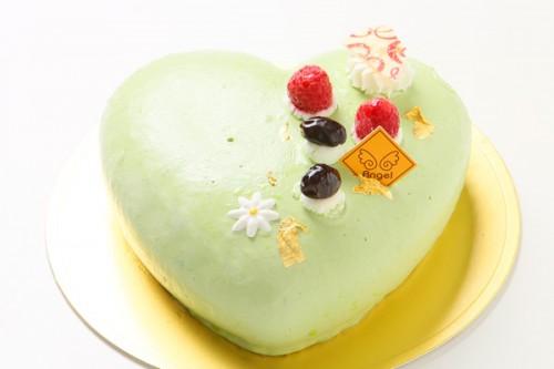 抹茶のケーキ 14.5cm×14cm×5cm