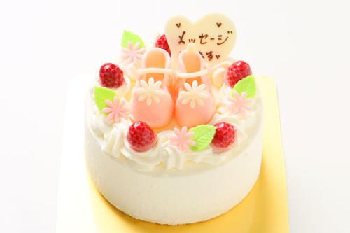 ファーストケーキ〜生クリーム〜 4号 12cm