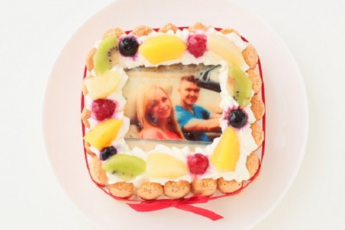 スペシャルフォトケーキ 15×15cm